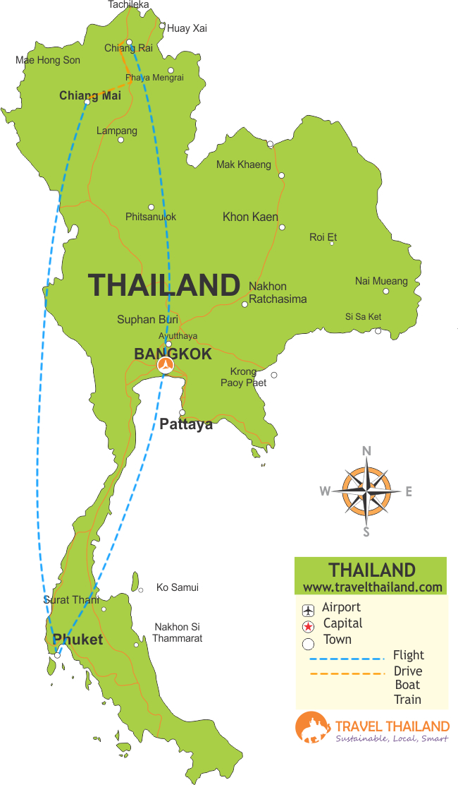 Map-HighlightsofThailand