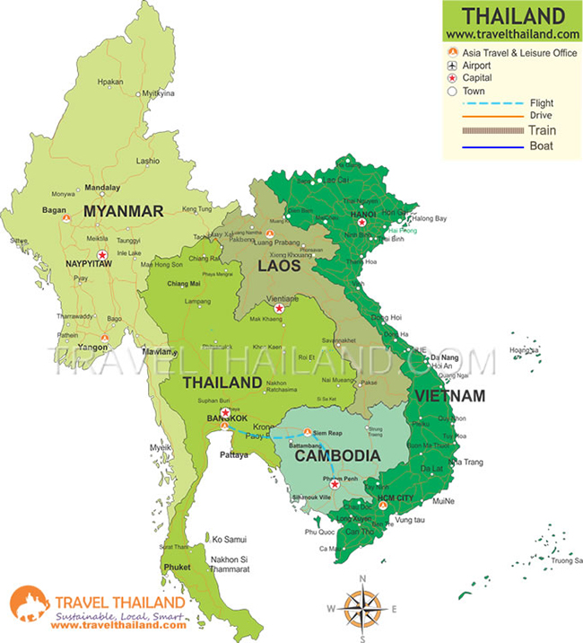 FROM-SIAM-TO-KHMER-A-ROYAL-HERITAGE-TOUR-MAP